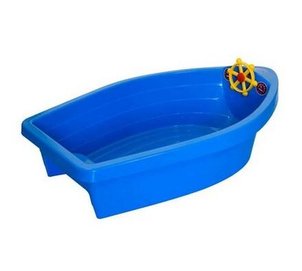 Pískoviště / bazének, 2v1, Vetro Plus, Boat s plac, modrá