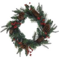 Wieniec świąteczny Minturno zielony, 45 cm