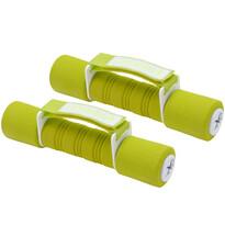 Dumbell kézi súlyzókészlet zöld, 2 x 1 kg