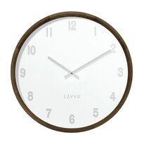 Lavvu LCT4061 drevené hodiny Fade, pr. 35 cm