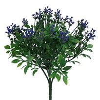 Sztuczny krzew Brslen, niebieski