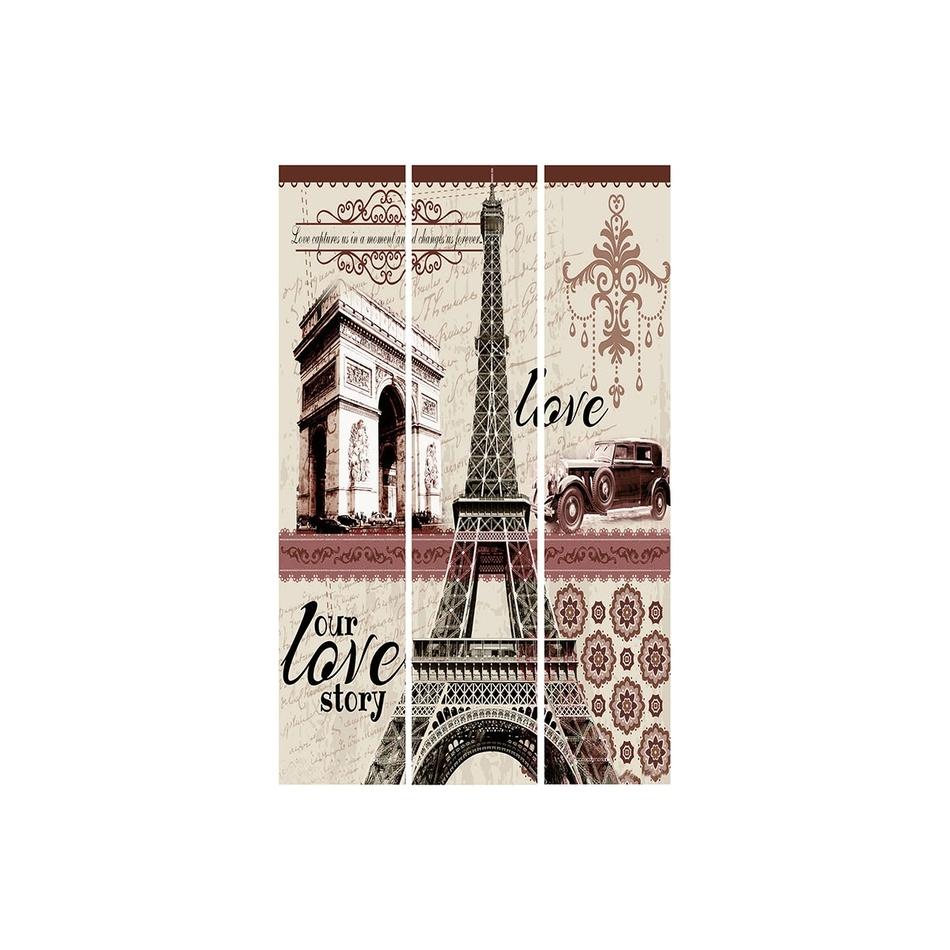 Paravan Paris 3dielny