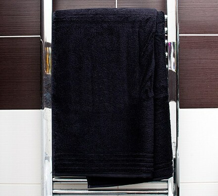 Vossen osuška Vienna Style Supersoft černá, 67 x 140 cm