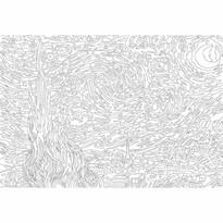EuroGraphics Color me puzzle Hvězdná noc, 300 dílků + sada na zavěšení