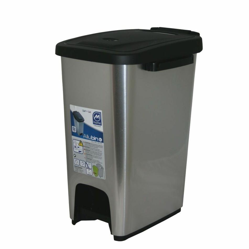 Koš na odpadky ECOMETALFACE 27 l