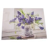 Levendula vázában vászonkép, 30 x 40 cm