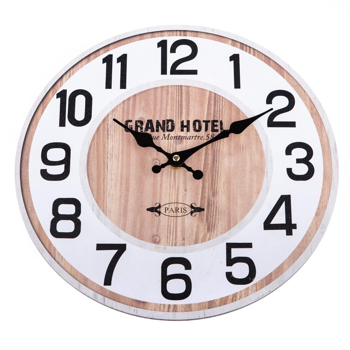 Zegar ścienny Grand Hotel, 34 cm