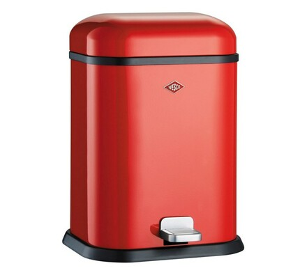 Odpadkový koš Wesco Single boy, červený 13l, červená