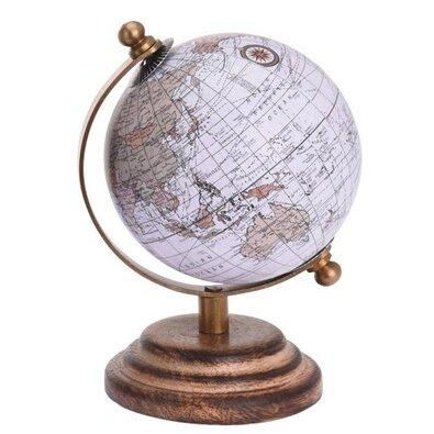 Globus biały, śr. 7,5 cm