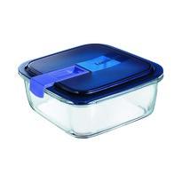 Doză din sticlă Luminarc EASY BOX, 1,22 l