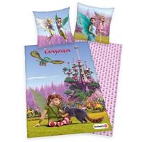 Lenjerie de pat copii, din bumbac, Bayala, 135 x 200 cm, 80 x 80 cm