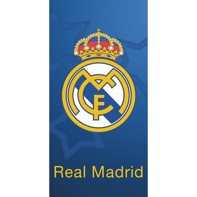 Prosop Real Madrid Blue Stars, 70 x 140 cm