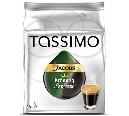 Kapsle Tassimo, Espresso, 16ks, Jacobs Krönung