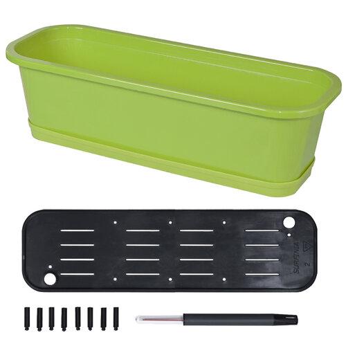 Samozavlažovací truhlík Petunia set 50 zelená