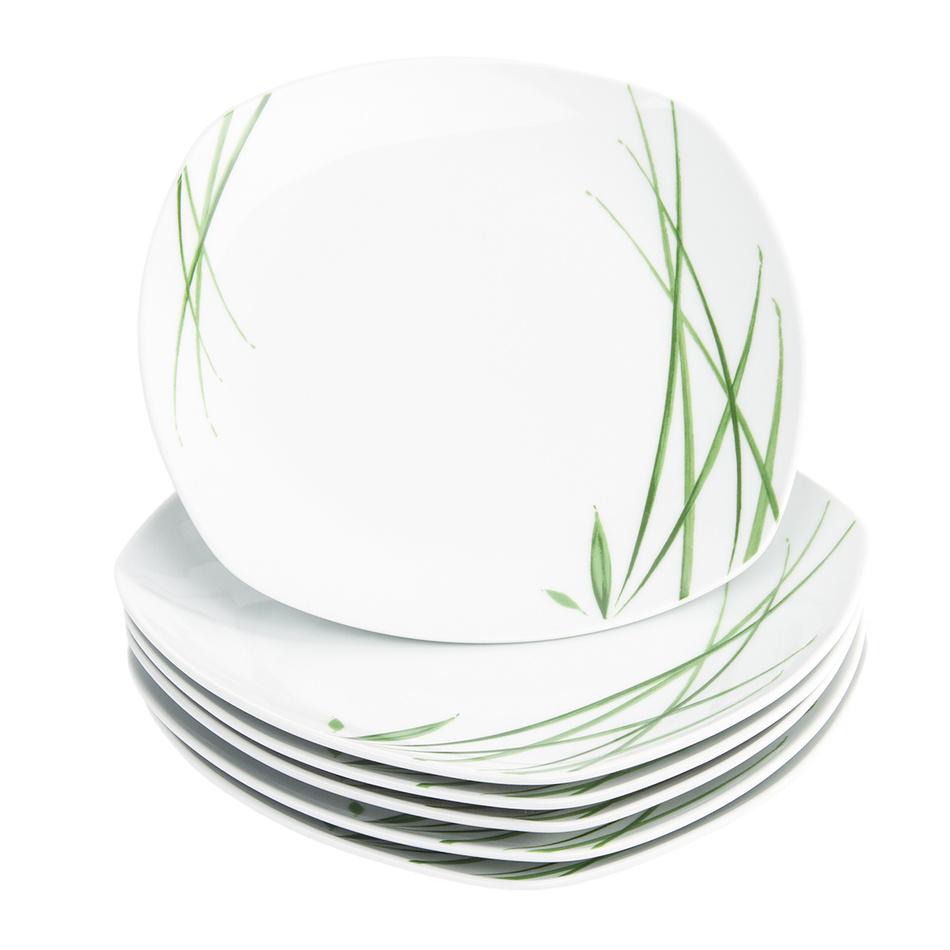 Fotografie Domestic 6dílná sada mělkých talířů Delia, 25 cm