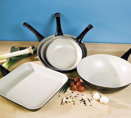 Biokeramické nádobí, hranatá