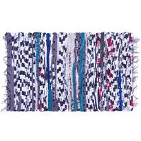 Tkany dywanik z frędzlami, 40 x 60 cm