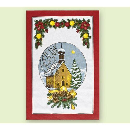 Vánoční utěrky, sada 2 ks