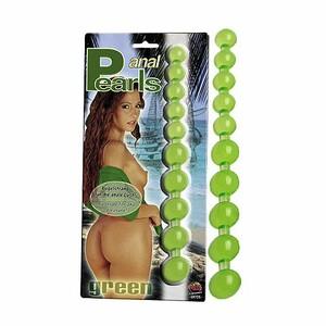 Anální perličky, zelená