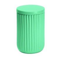 Kleine Wolke Dóza na vatové tampóny Mallow, zelená