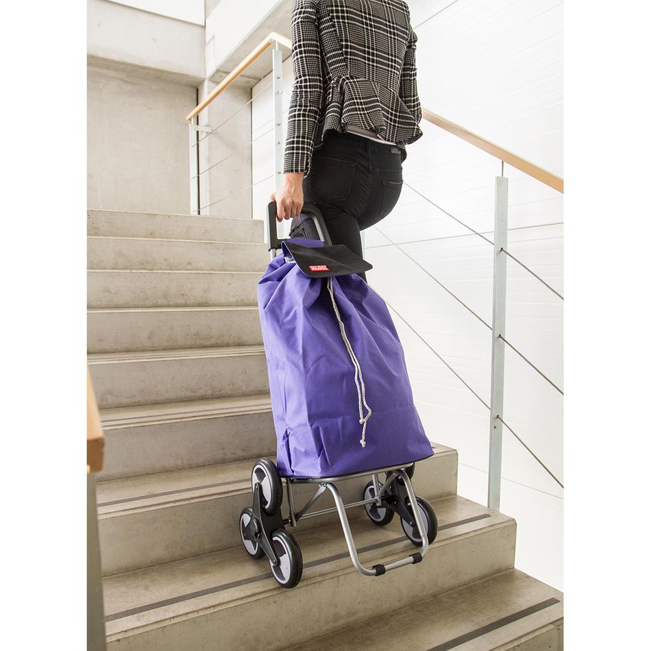 Produktové foto Aldo Nákupní taška na kolečkách Madrid, fialová