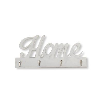 Cuier decorativ Home, alb