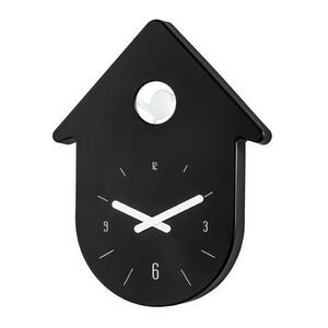 Nástěnné hodiny Toc Toc černá, Koziol