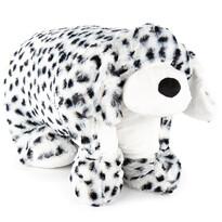 Plyšový dalmatin s gombíkom, 55 x 75 cm