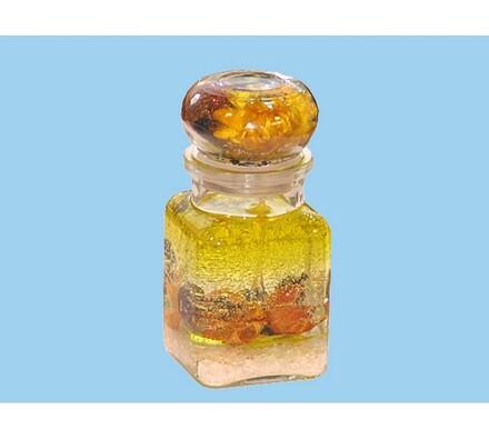 Gélová vonná sviečka - citrón