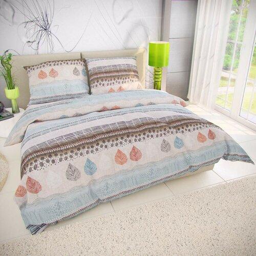 Kvalitex Bavlnené obliečky Kaya modrá, 140 x 200 cm, 70 x 90 cm