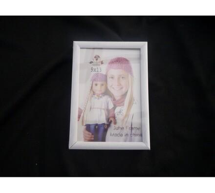 Fotorámeček 9 x 13 cm bílý
