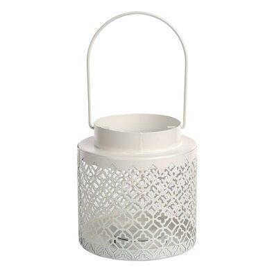 Altom Kovový lampáš na čajovú sviečku Mia, 12,5 x 11,8 cm