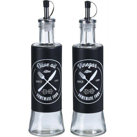Sticlă Koopman, pentru ulei și oțet, 2 buc.