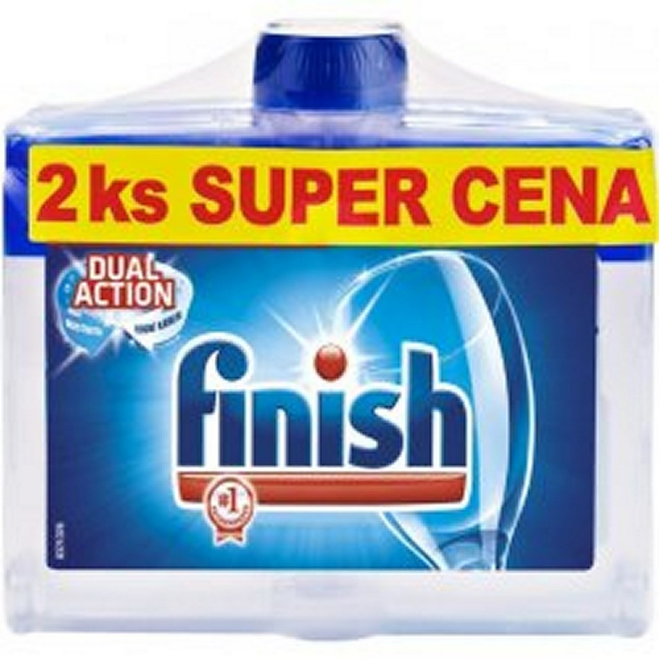 Finish Calgonit čistič umývačky DUO 2 x 250 ml