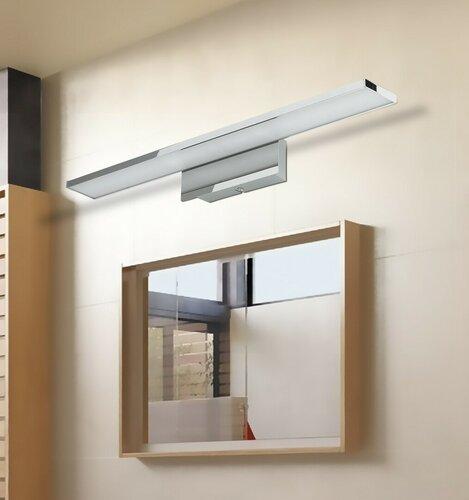 Rabalux 5737 Louise nástenné LED svietidlo sivá, 58 cm