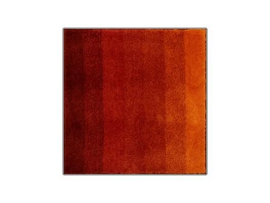 Koupelnová předložka Grund RIALTO oranžová, 60 x 60 cm