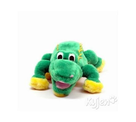 Interaktivní hračka, Krokodýl, zelená