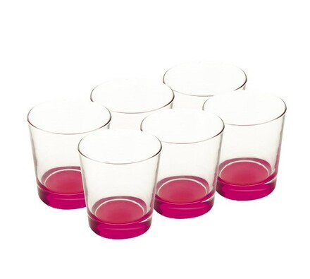 Maxwell&Williams sklenice 340 ml 6 ks růžová