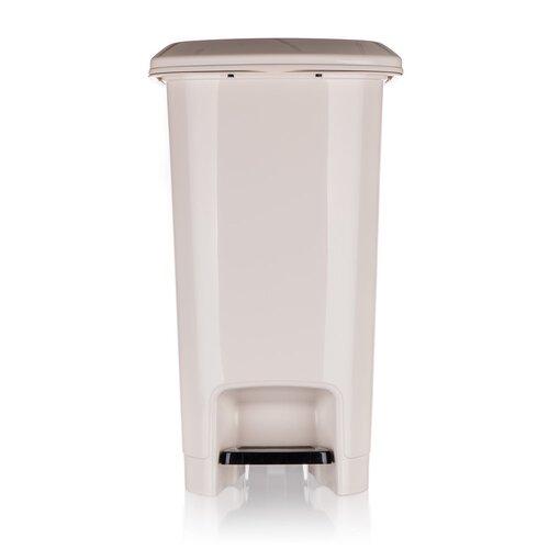 Banquet Koš odpadkový nášlapný STEP 25 l,    krémová