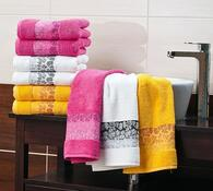 4Home ručník Kamelie bílá, 50 x 90 cm, sada 2 ks