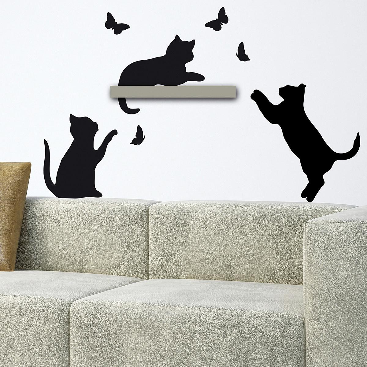 Samolepicí dekorace Kočky