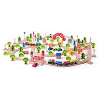 Woody Maxi vonatpálya, 120 db-os