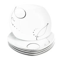 Domestic Sada mělkých talířů Chanson 25 cm, 6 ks
