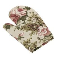 Berta Rózsa edényfogó ó rózsaszín, 18 x 28 cm