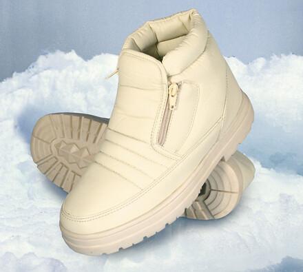Zimní obuv Eskimo, béžová, 40