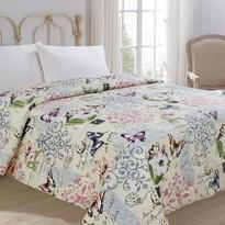 Prehoz na posteľ Motýľ, 220 x 240 cm
