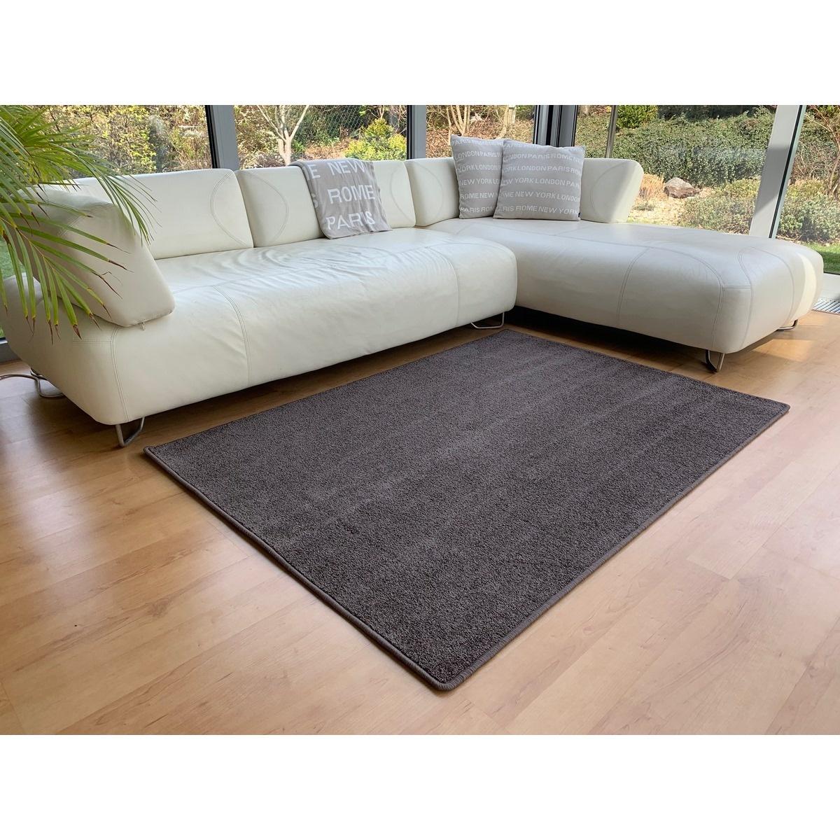 Vopi Kusový koberec Capri hnedá, 50 x 80 cm