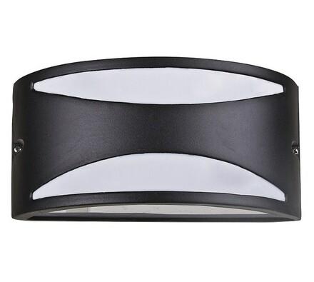 Venkovní nástěnné svítidlo Rabalux Manhattan matná, černá, 25 x 12 x 13,5 cm