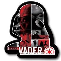 Tvarovaný vankúšik Darth Vader, 31 x 19 cm