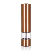 Banquet Copper elektromos fűszerőrlő, 22,5 cm
